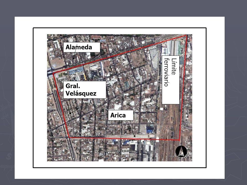 Alameda Límite ferroviario Gral. Velásquez Arica