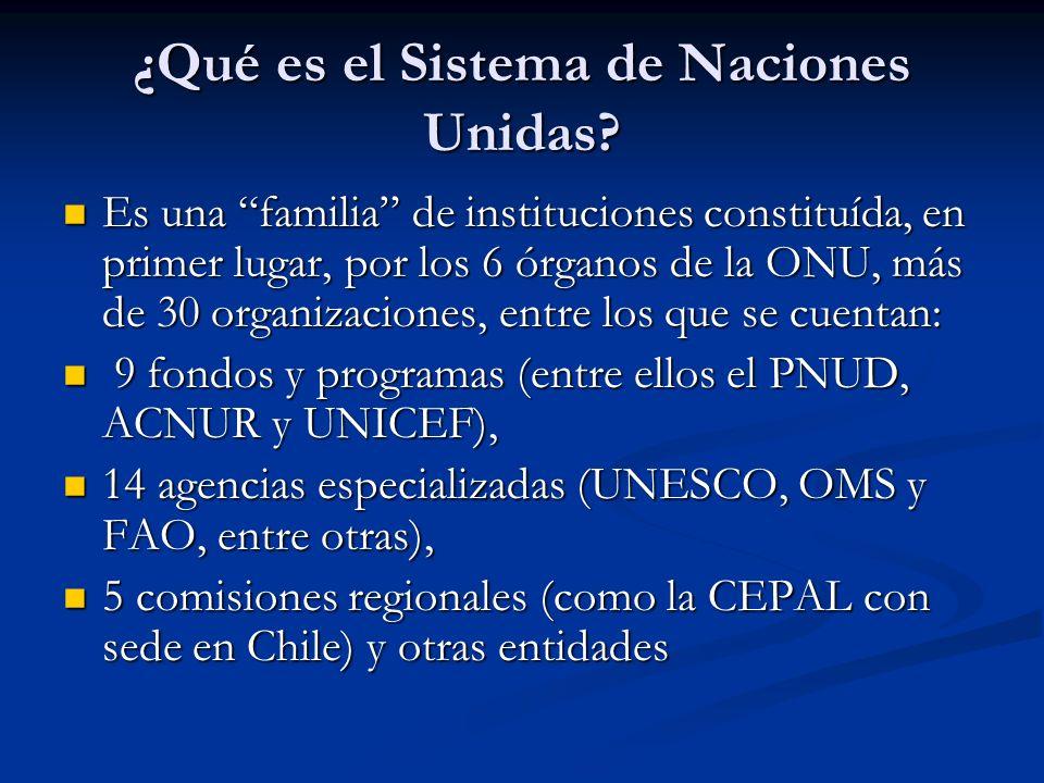 ¿Qué es el Sistema de Naciones Unidas