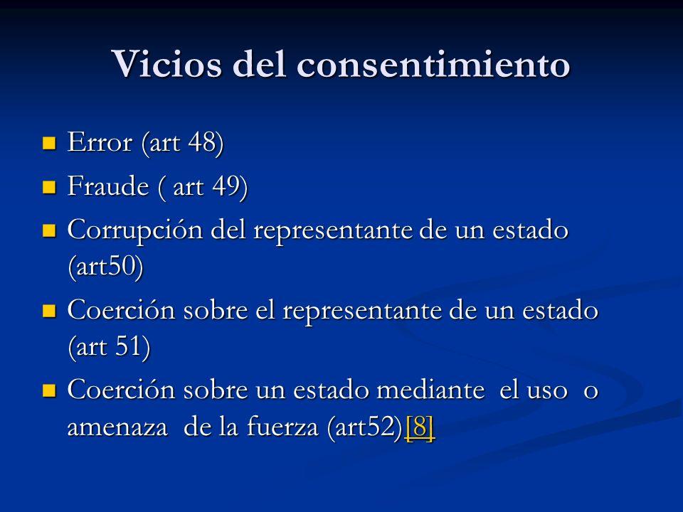 Vicios del consentimiento