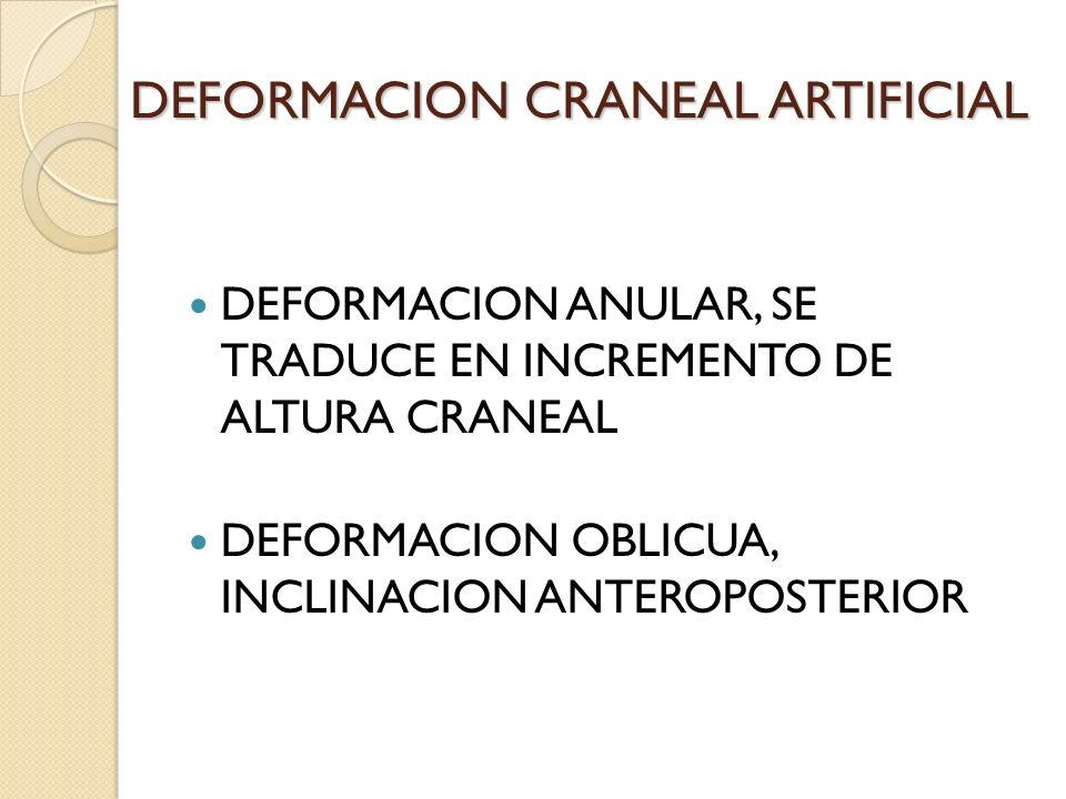 DEFORMACION CRANEAL ARTIFICIAL