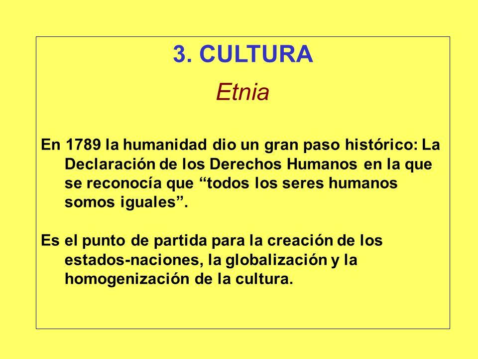 3. CULTURA Etnia.