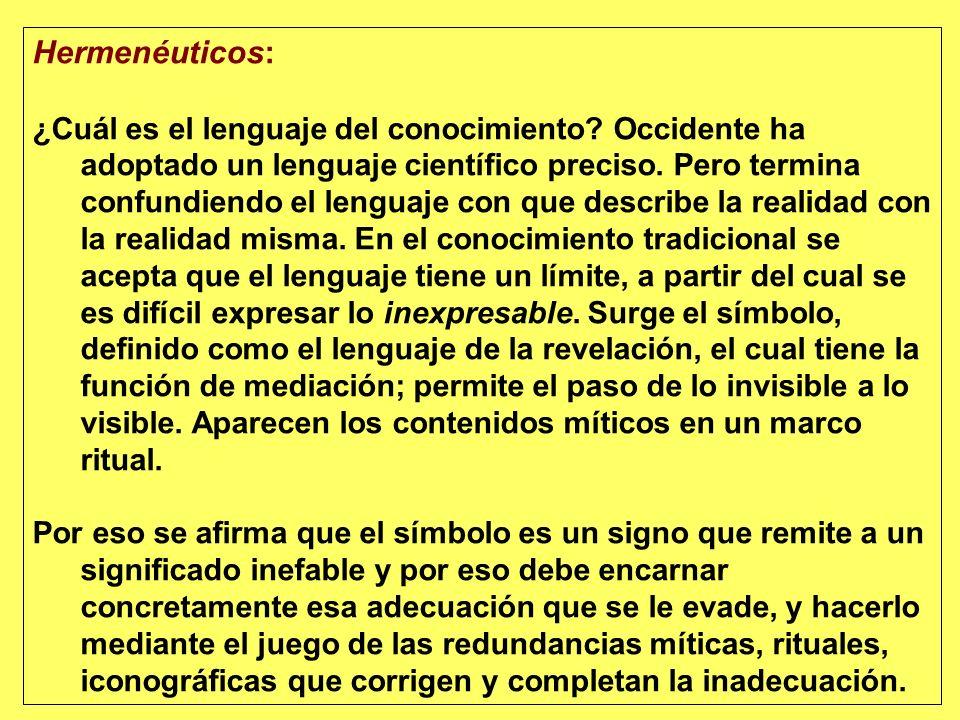 Hermenéuticos: