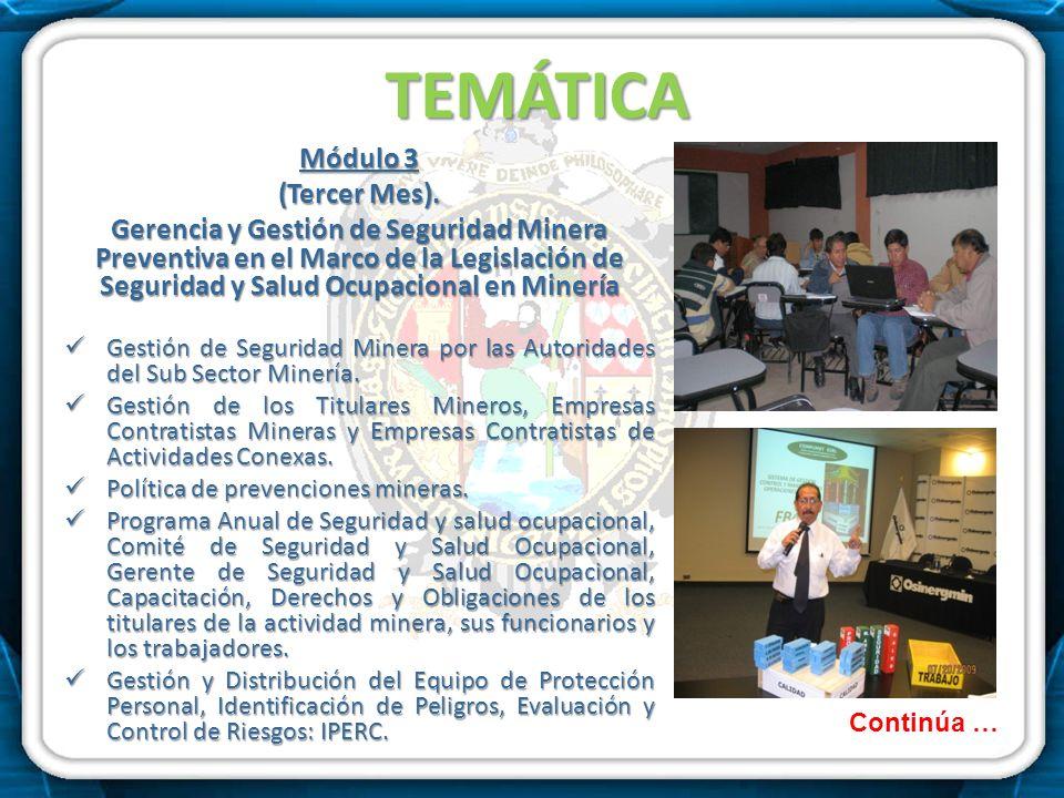 TEMÁTICA Módulo 3 (Tercer Mes).