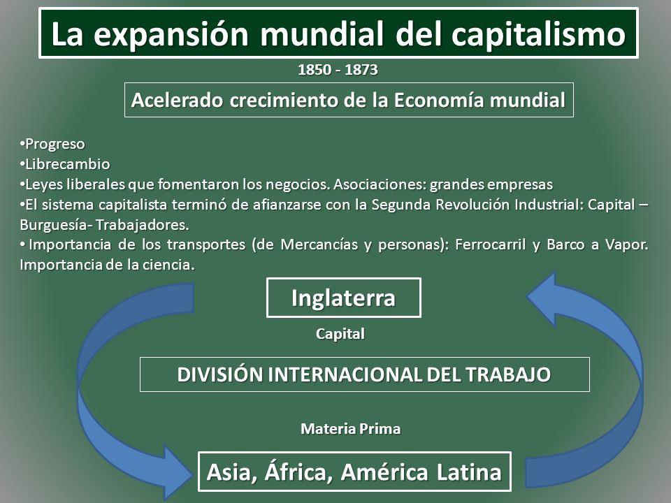 La expansión mundial del capitalismo