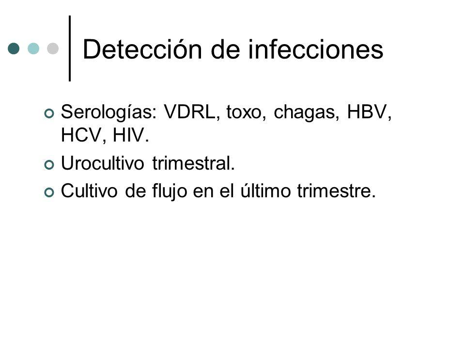Detección de infecciones