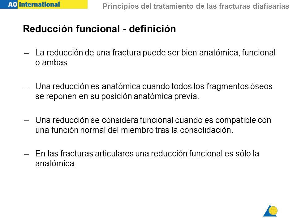 Reducción funcional - definición