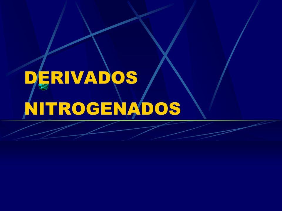 DERIVADOS NITROGENADOS