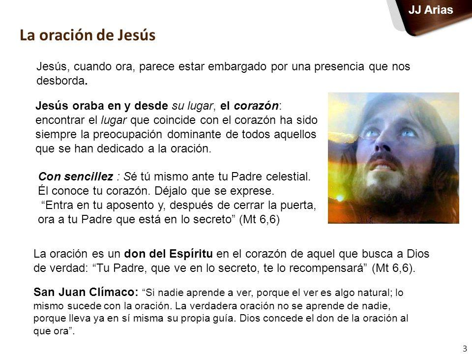La oración de Jesús JJ Arias
