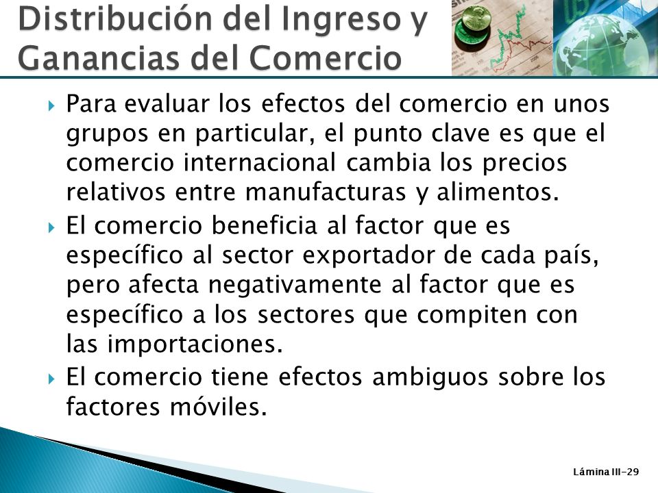 Factores Espec Ficos Y Distribuci N Del Ingreso Ppt Video Online Descargar