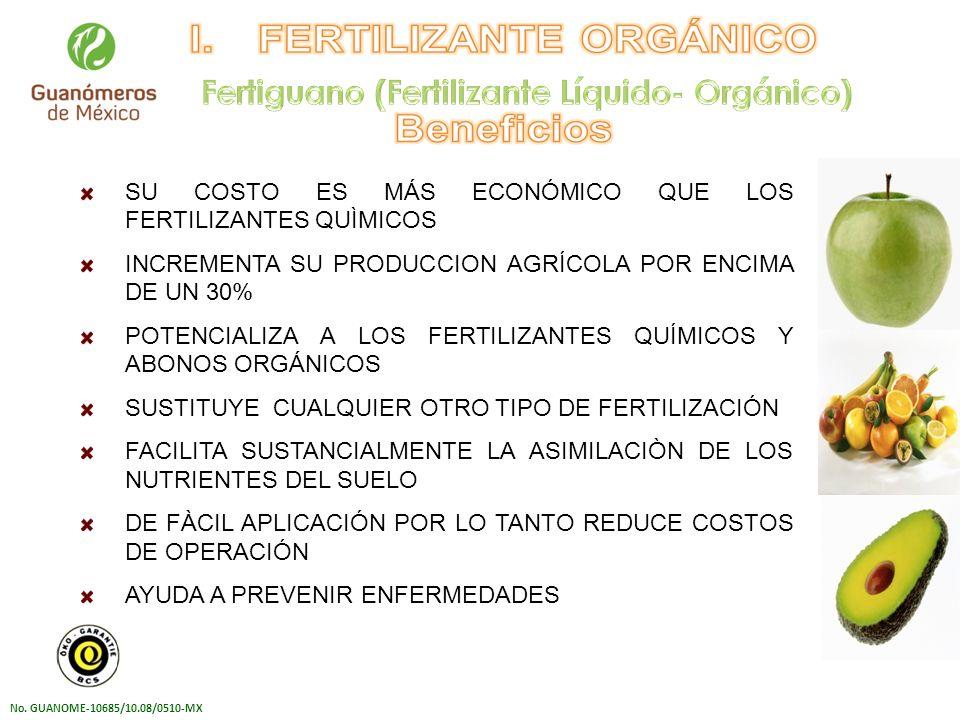 Fertiguano (Fertilizante Líquido- Orgánico)