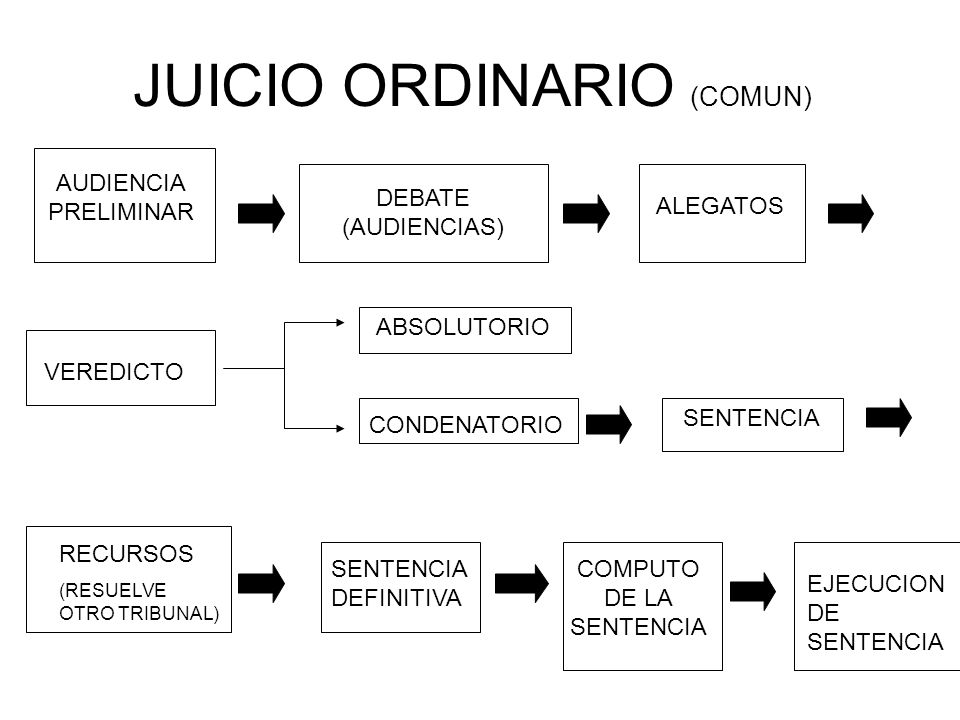 JUICIO ORDINARIO (COMUN)