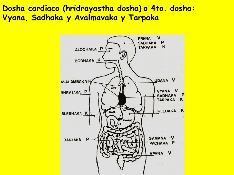 Dosha cardíaco (hridrayastha dosha) o 4to