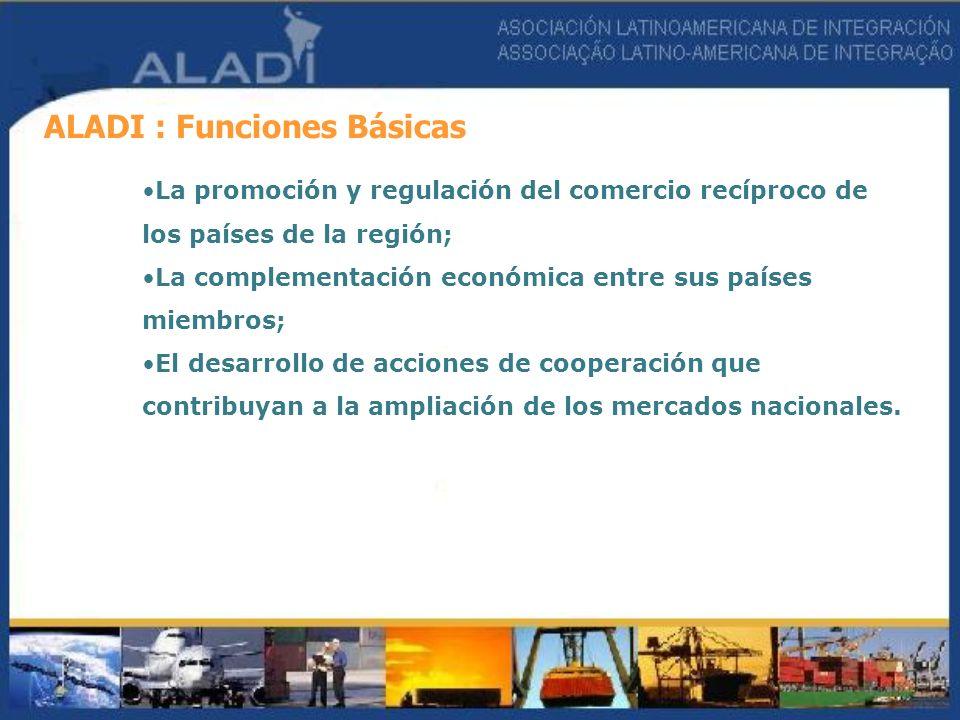 ALADI : Funciones Básicas