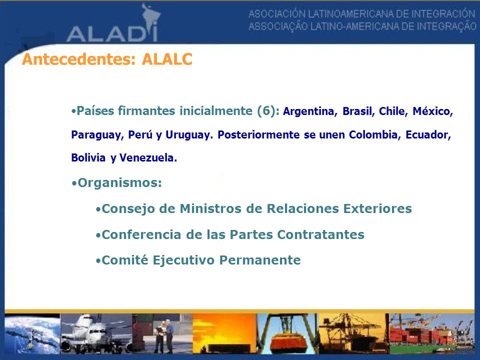 Antecedentes: ALALC