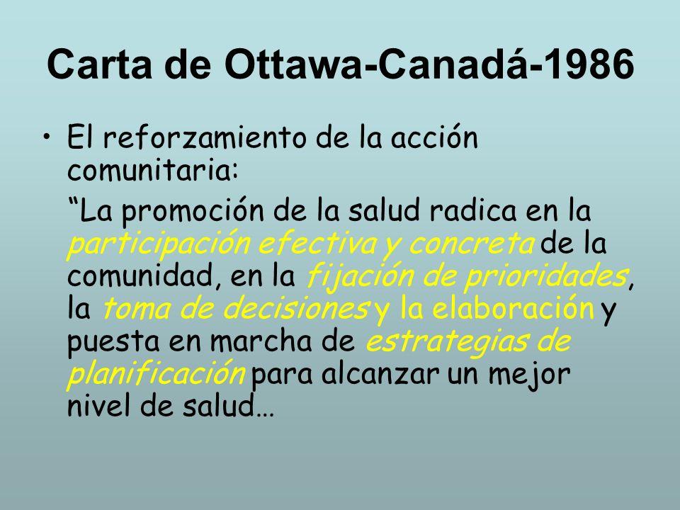 Carta de Ottawa-Canadá-1986