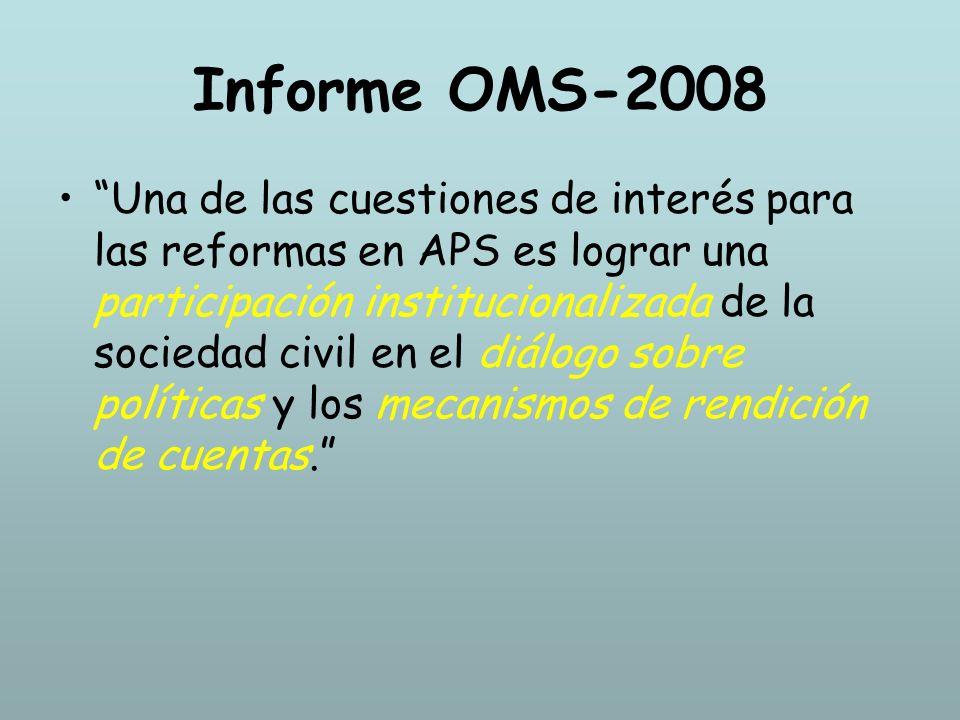 Informe OMS-2008