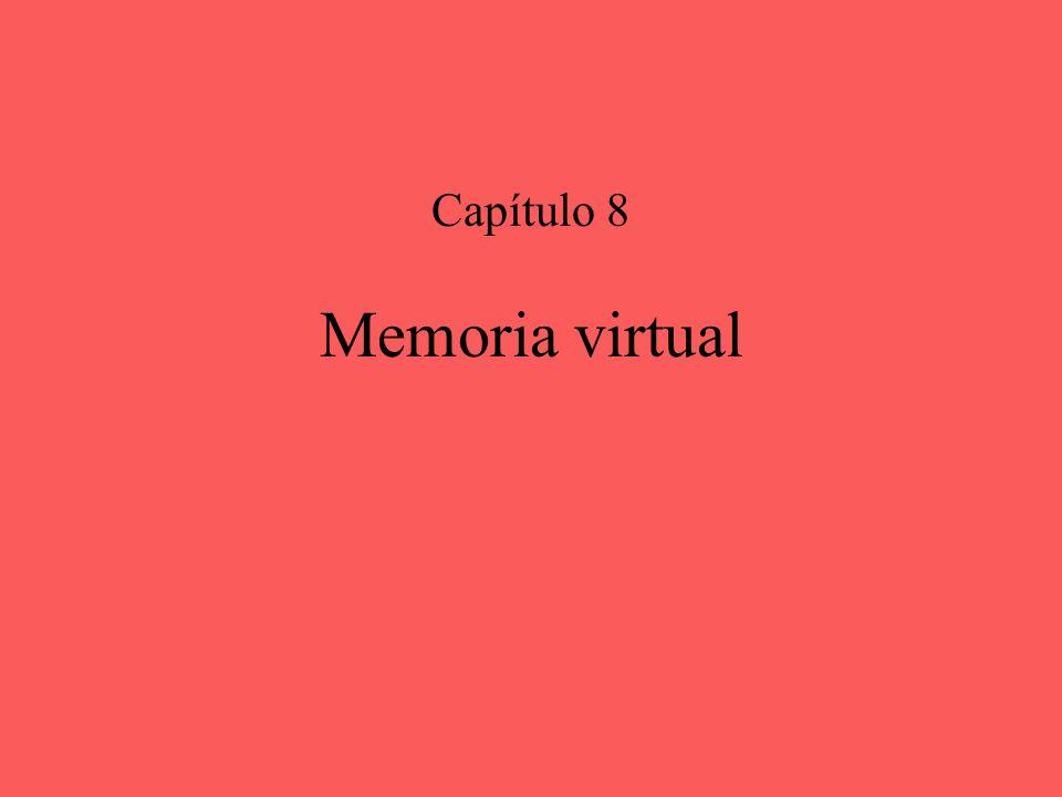 Capítulo 8 Memoria virtual