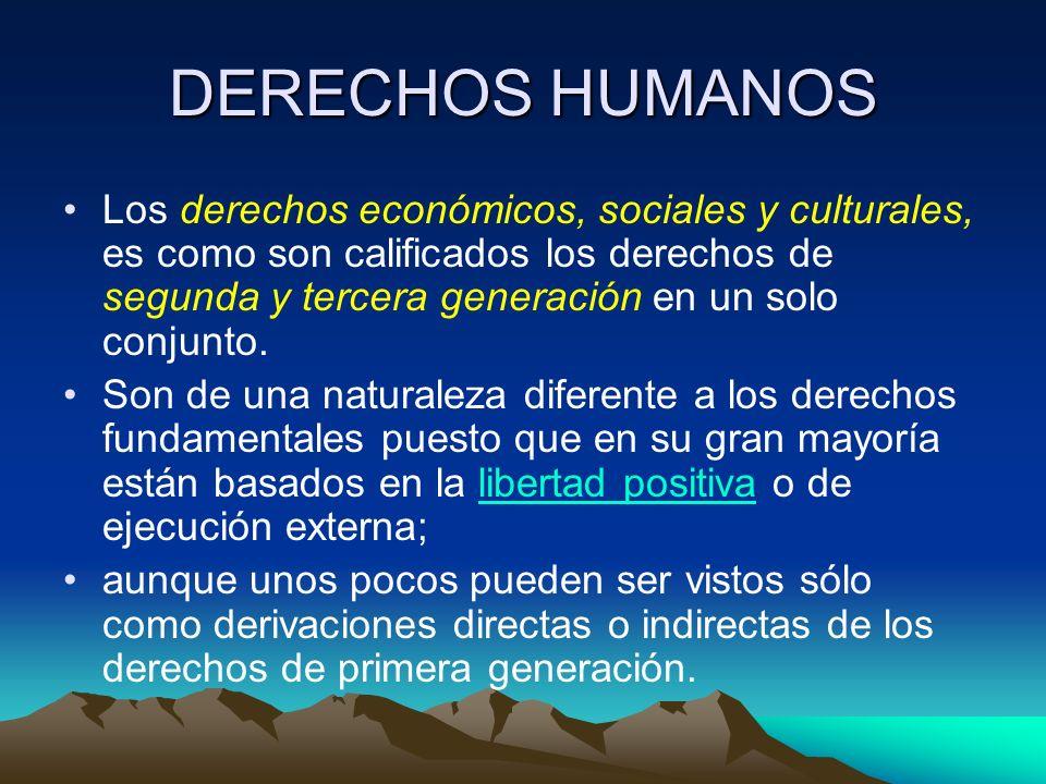 DERECHOS HUMANOS