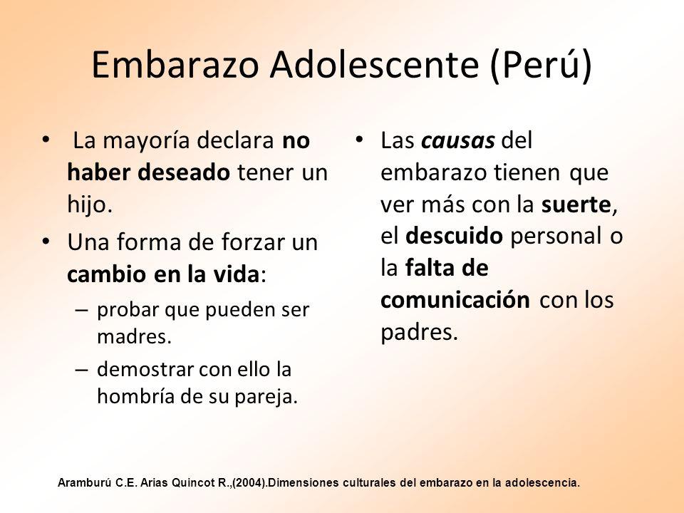 Embarazo Adolescente (Perú)