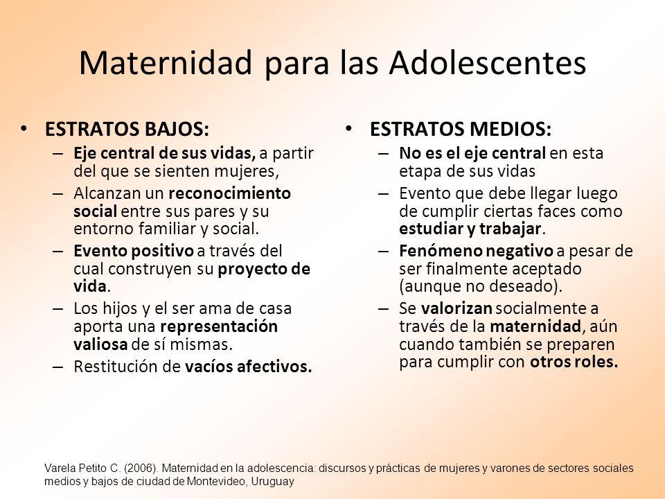 Maternidad para las Adolescentes