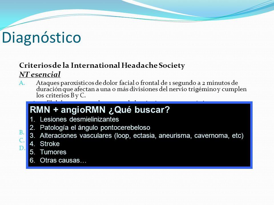 Diagnóstico RMN + angioRMN ¿Qué buscar