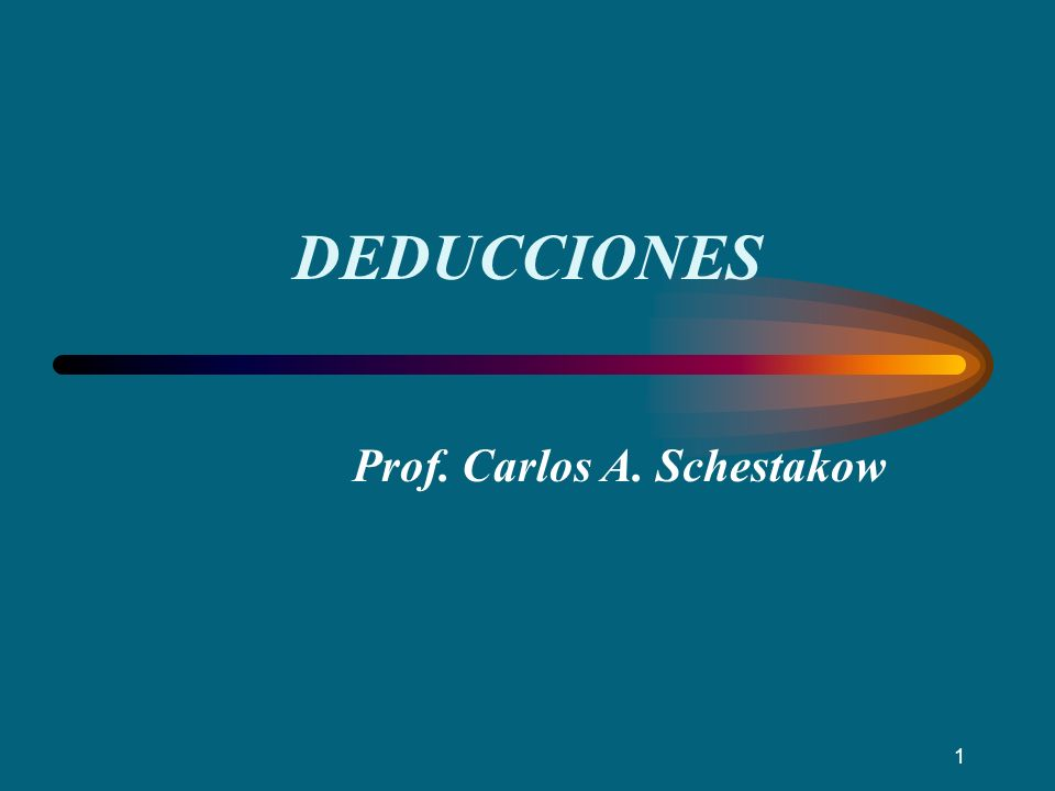 Prof. Carlos A. Schestakow