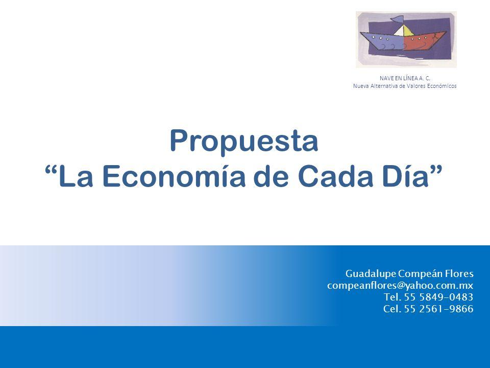 Propuesta La Economía de Cada Día