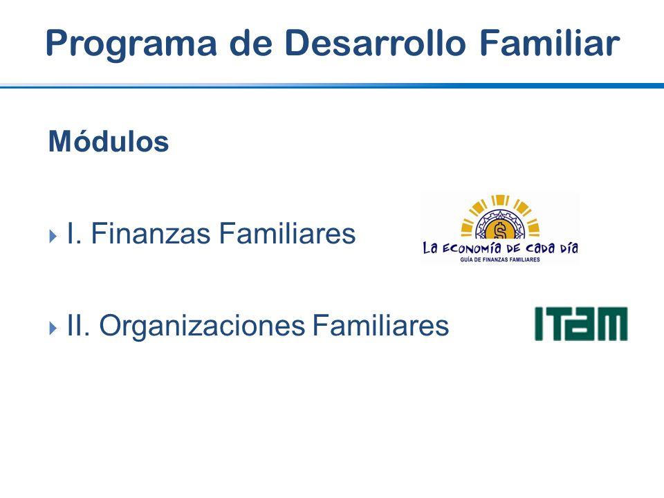 Programa de Desarrollo Familiar