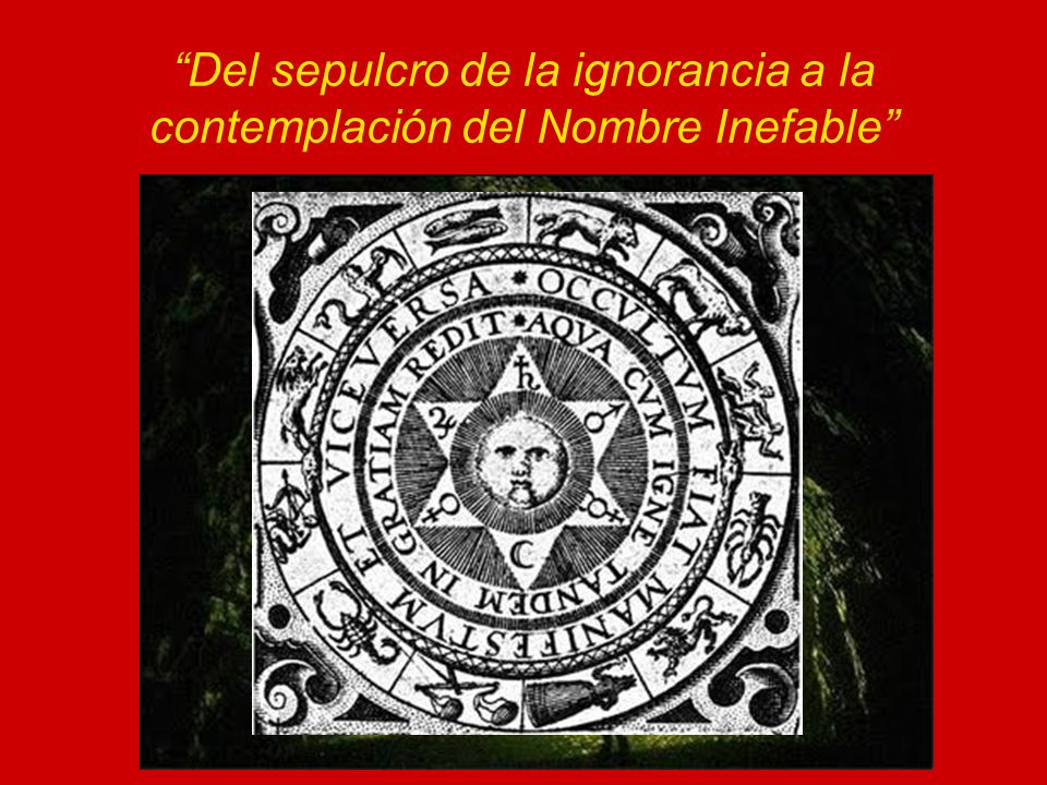 Del sepulcro de la ignorancia a la contemplación del Nombre Inefable