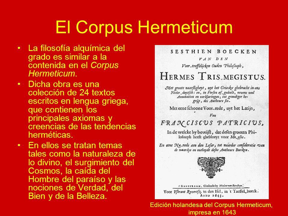 Edición holandesa del Corpus Hermeticum,