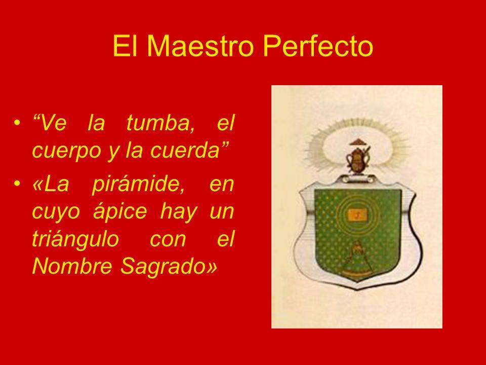 El Maestro Perfecto Ve la tumba, el cuerpo y la cuerda