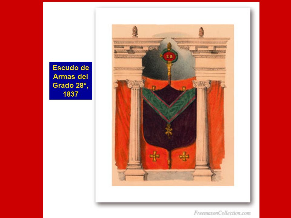 Escudo de Armas del Grado 28°, 1837