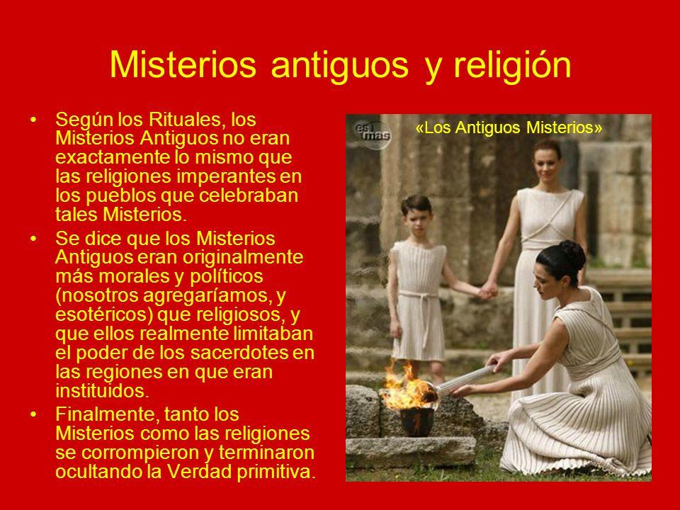 Misterios antiguos y religión