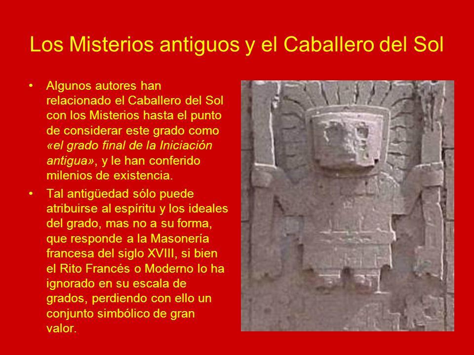 Los Misterios antiguos y el Caballero del Sol