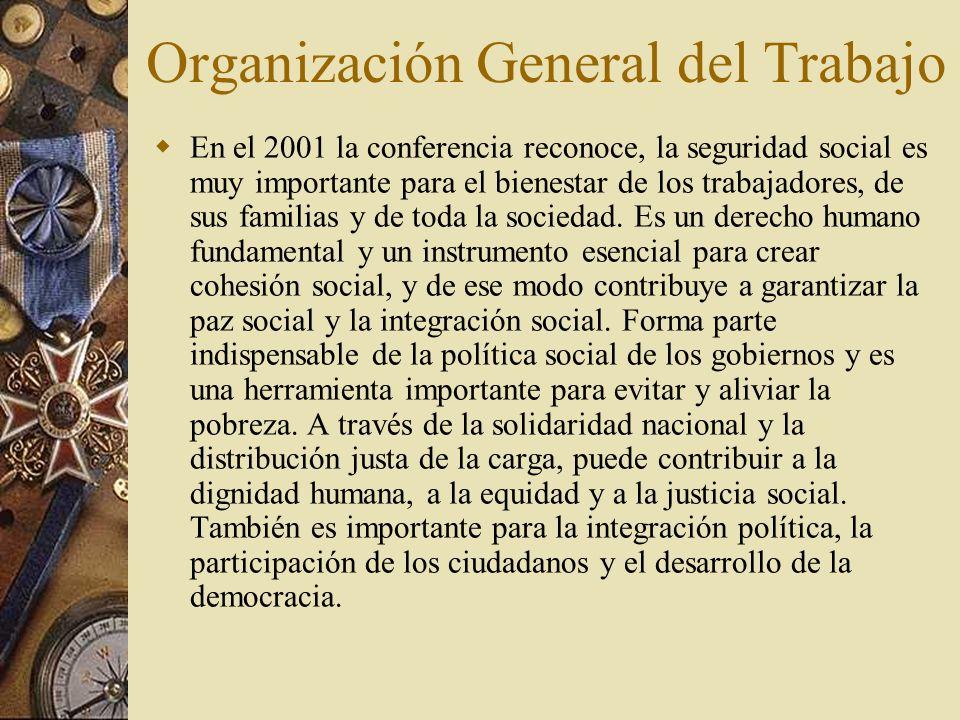 Organización General del Trabajo