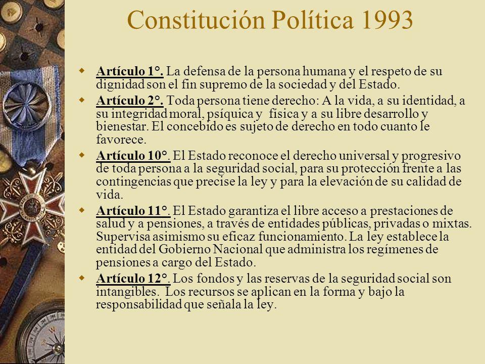 Constitución Política 1993