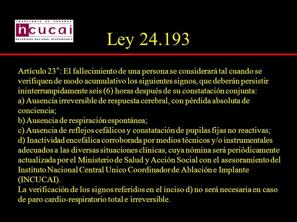 Ley 24.193