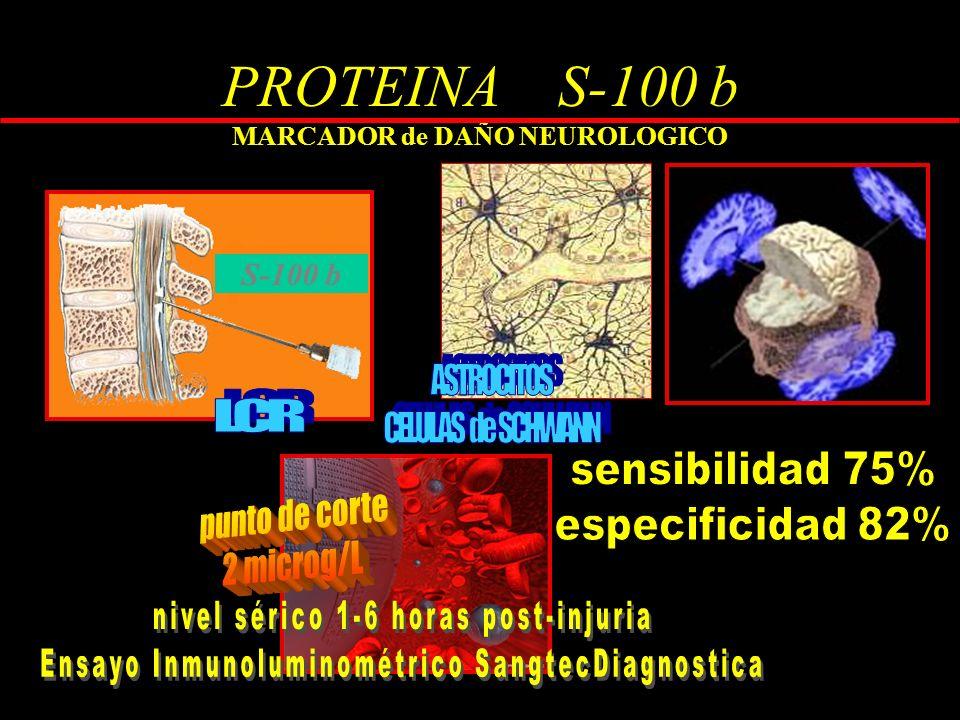 PROTEINA S-100 b MARCADOR de DAÑO NEUROLOGICO