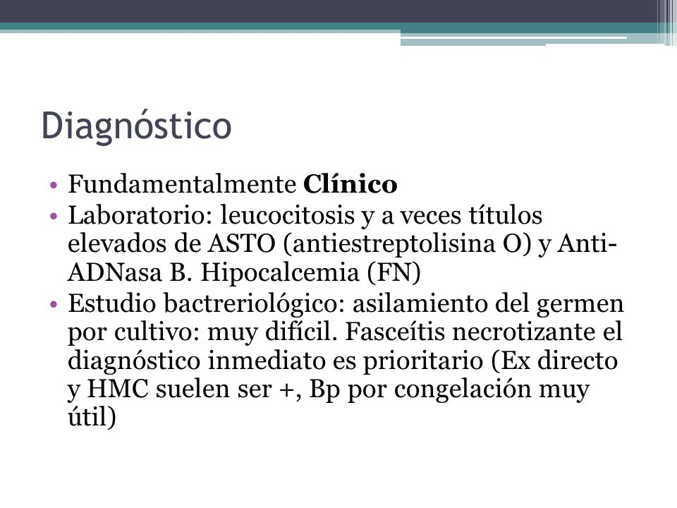 Diagnóstico Fundamentalmente Clínico