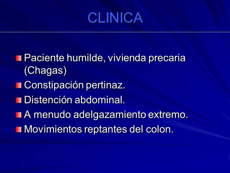 CLINICA Paciente humilde, vivienda precaria (Chagas)