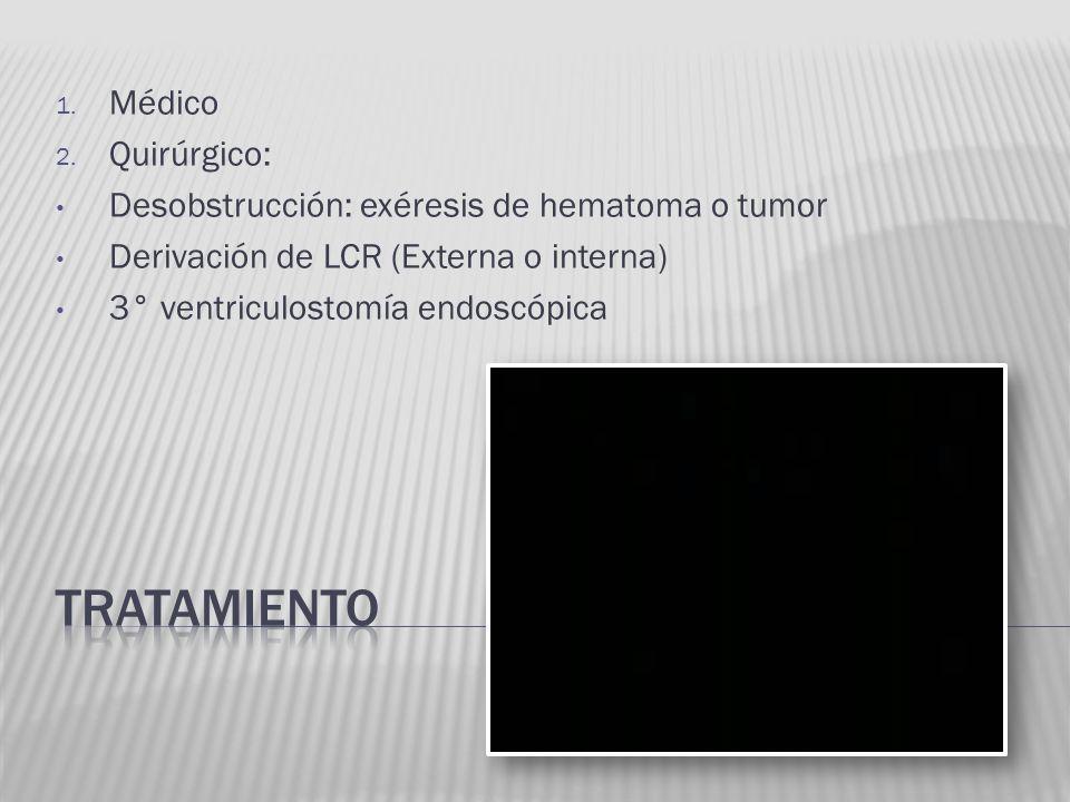 tratamiento Médico Quirúrgico: