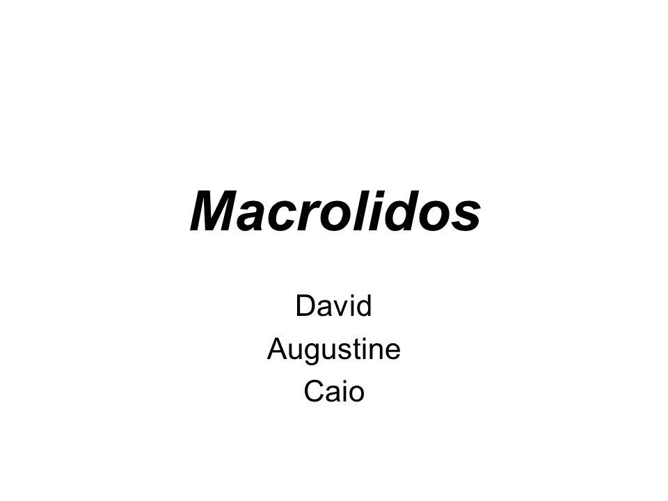 Macrolidos David Augustine Caio