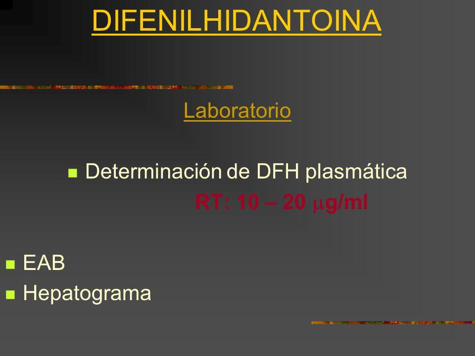 Determinación de DFH plasmática