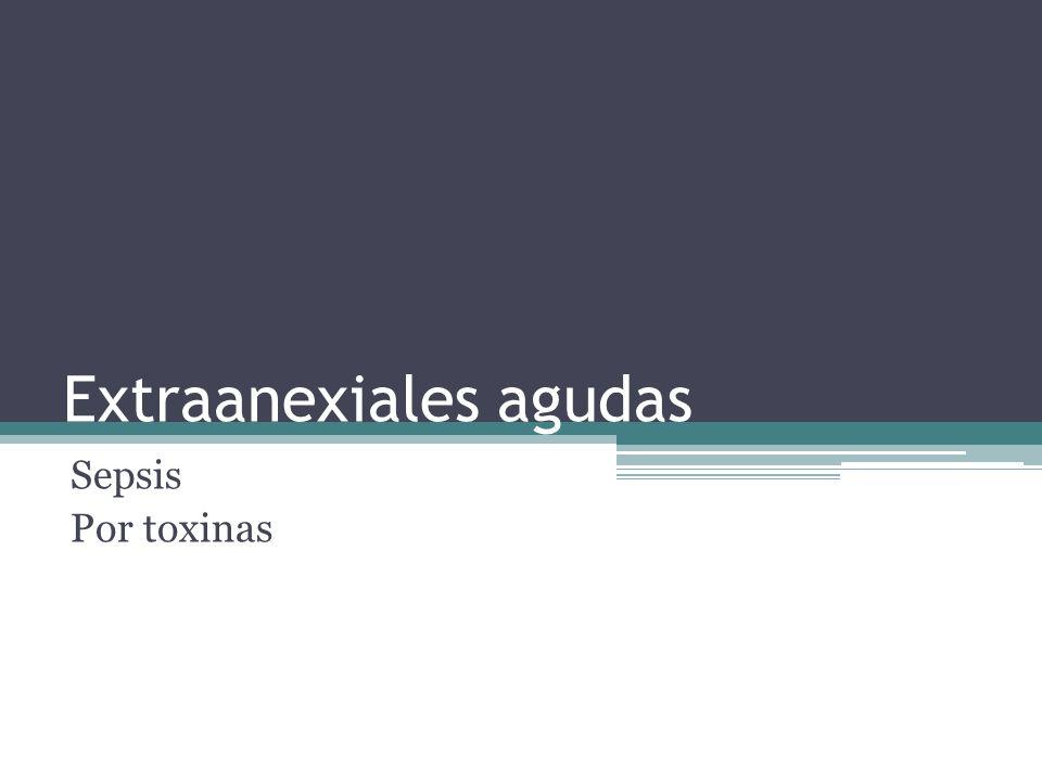 Extraanexiales agudas
