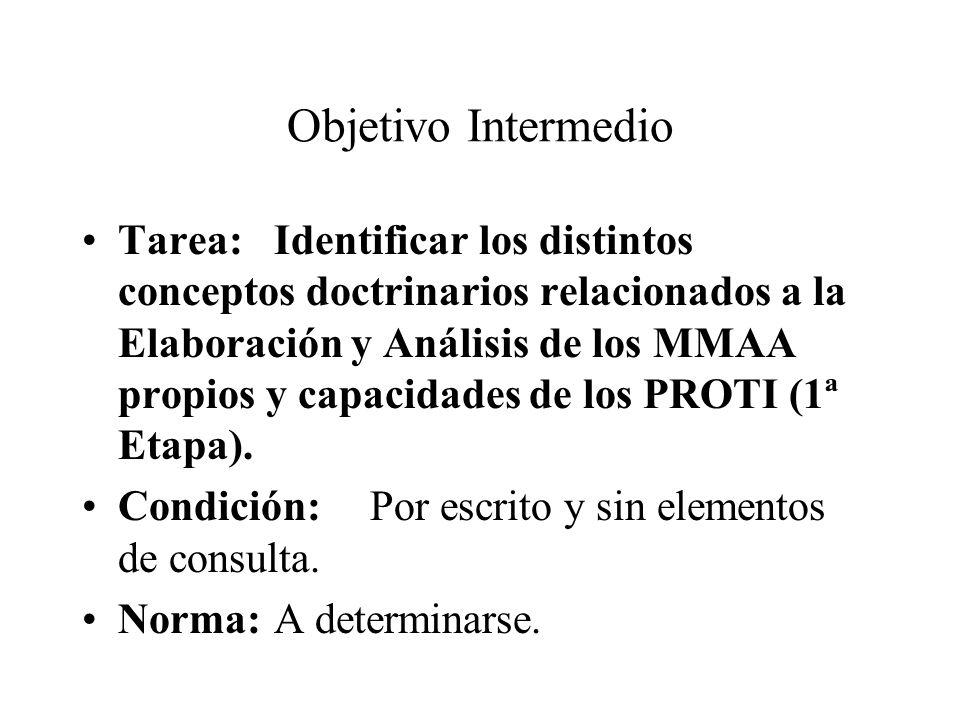 Objetivo Intermedio