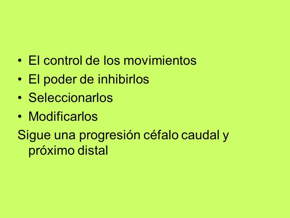 El control de los movimientos