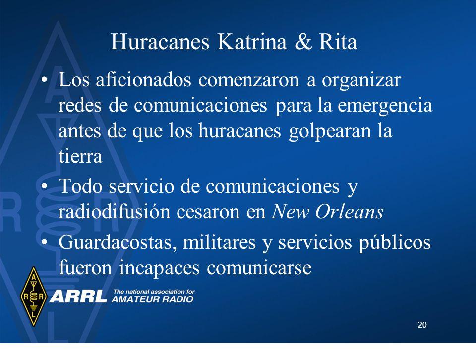 Huracanes Katrina & Rita