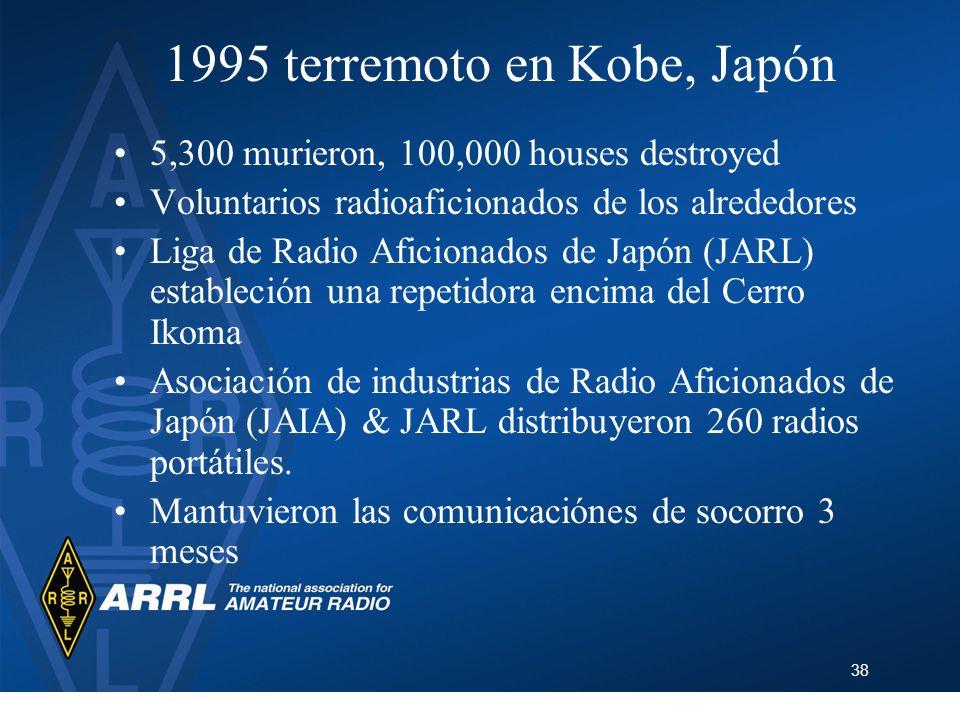1995 terremoto en Kobe, Japón
