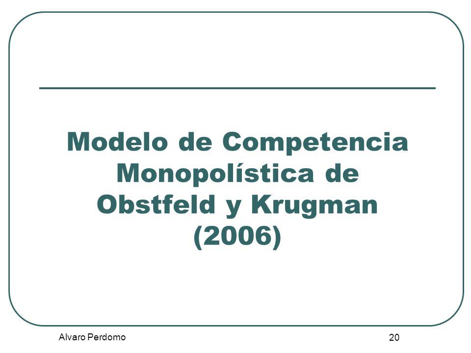 Modelo de Competencia Monopolística de Obstfeld y Krugman (2006)