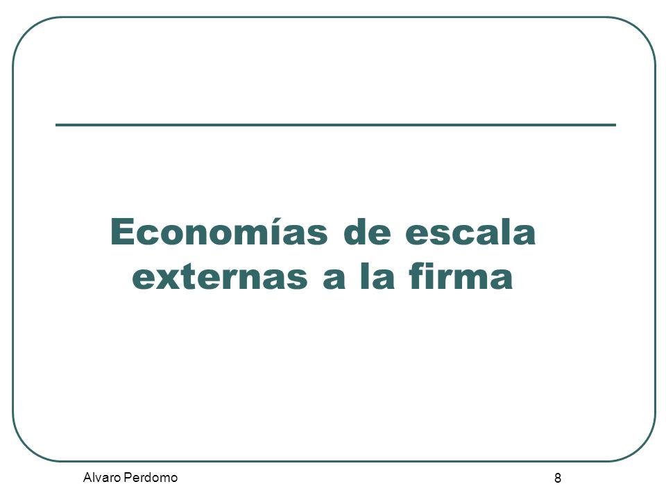 Economías de escala externas a la firma